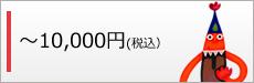 10,000円(税抜き)以下
